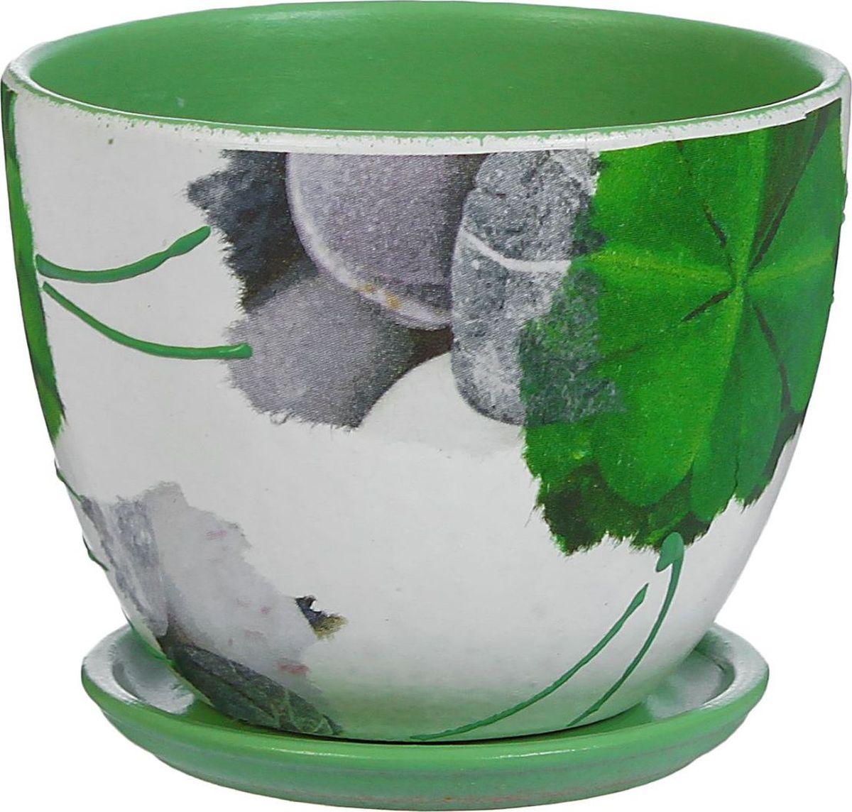 Кашпо Эко стиль, 0,6 л1138741Комнатные растения — всеобщие любимцы. Они радуют глаз, насыщают помещение кислородом и украшают пространство. Каждому из них необходим свой удобный и красивый дом. Кашпо из керамики прекрасно подходят для высадки растений: за счёт пластичности глины и разных способов обработки существует великое множество форм и дизайновпористый материал позволяет испаряться лишней влагевоздух, необходимый для дыхания корней, проникает сквозь керамические стенки! #name# позаботится о зелёном питомце, освежит интерьер и подчеркнёт его стиль.