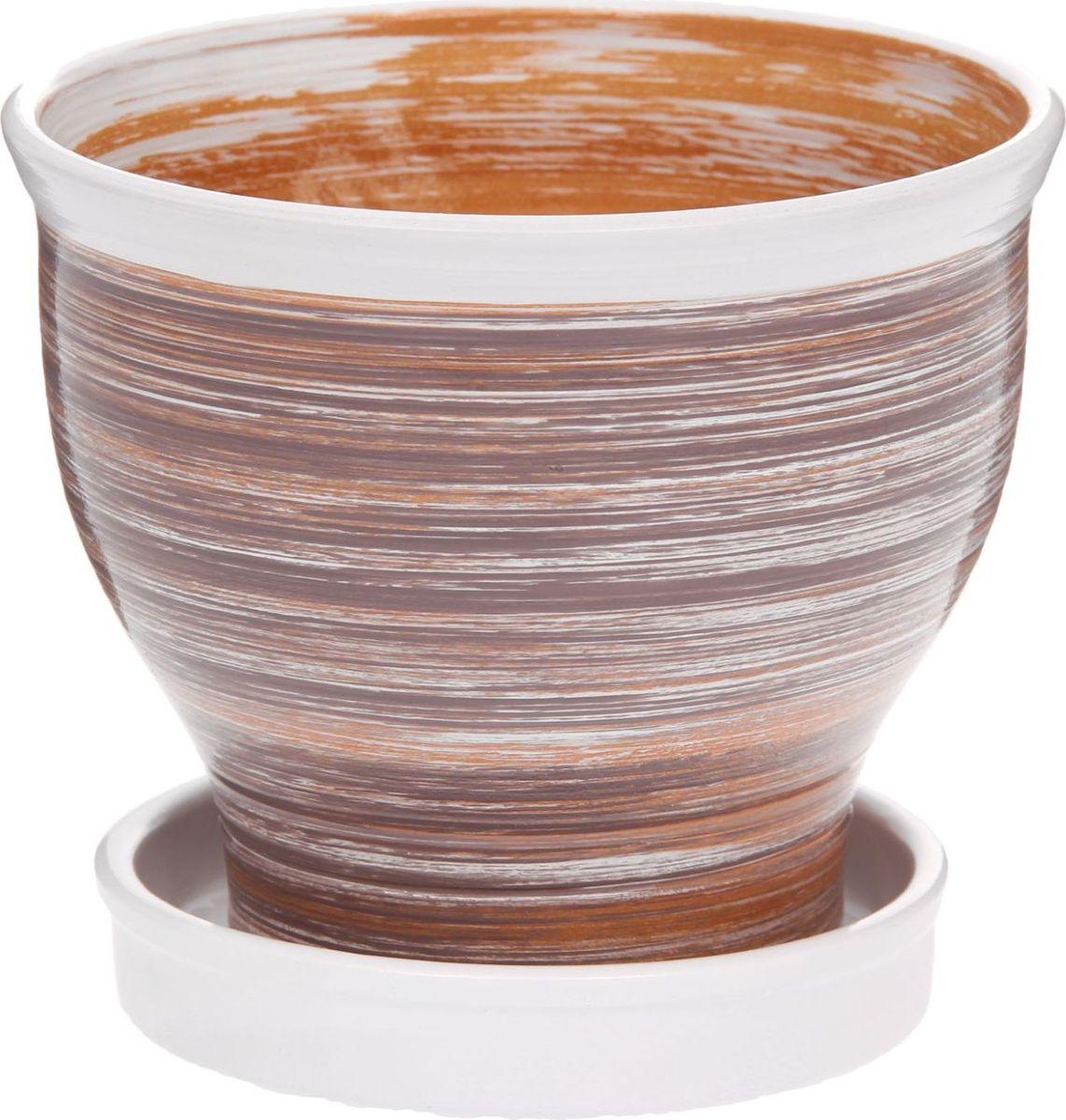 Кашпо Полоски, 1,7 л1147358Комнатные растения — всеобщие любимцы. Они радуют глаз, насыщают помещение кислородом и украшают пространство. Каждому из них необходим свой удобный и красивый дом. Кашпо из керамики прекрасно подходят для высадки растений: за счёт пластичности глины и разных способов обработки существует великое множество форм и дизайновпористый материал позволяет испаряться лишней влагевоздух, необходимый для дыхания корней, проникает сквозь керамические стенки! #name# позаботится о зелёном питомце, освежит интерьер и подчеркнёт его стиль.