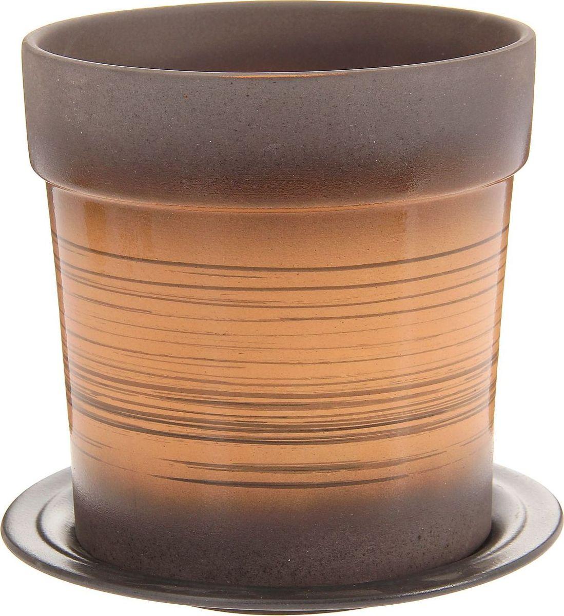 Кашпо Верона, цвет: желтый, 3 л1157426Комнатные растения — всеобщие любимцы. Они радуют глаз, насыщают помещение кислородом и украшают пространство. Каждому из них необходим свой удобный и красивый дом. Кашпо из керамики прекрасно подходят для высадки растений: за счёт пластичности глины и разных способов обработки существует великое множество форм и дизайновпористый материал позволяет испаряться лишней влагевоздух, необходимый для дыхания корней, проникает сквозь керамические стенки! #name# позаботится о зелёном питомце, освежит интерьер и подчеркнёт его стиль.