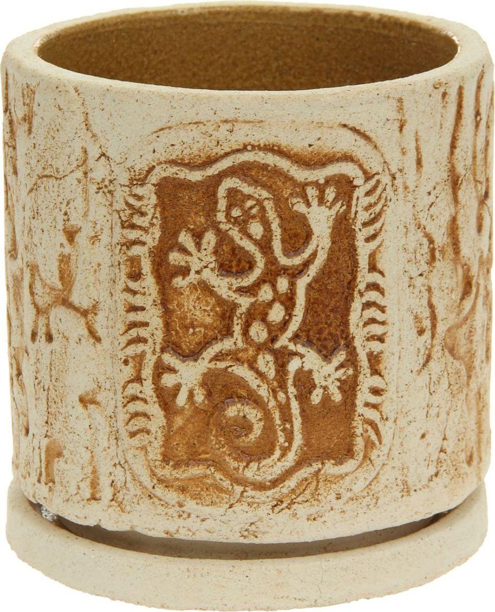 Кашпо Саламандра, 4 л1174725Комнатные растения — всеобщие любимцы. Они радуют глаз, насыщают помещение кислородом и украшают пространство. Каждому из них необходим свой удобный и красивый дом. Кашпо из керамики прекрасно подходят для высадки растений: за счёт пластичности глины и разных способов обработки существует великое множество форм и дизайновпористый материал позволяет испаряться лишней влагевоздух, необходимый для дыхания корней, проникает сквозь керамические стенки! #name# позаботится о зелёном питомце, освежит интерьер и подчеркнёт его стиль.