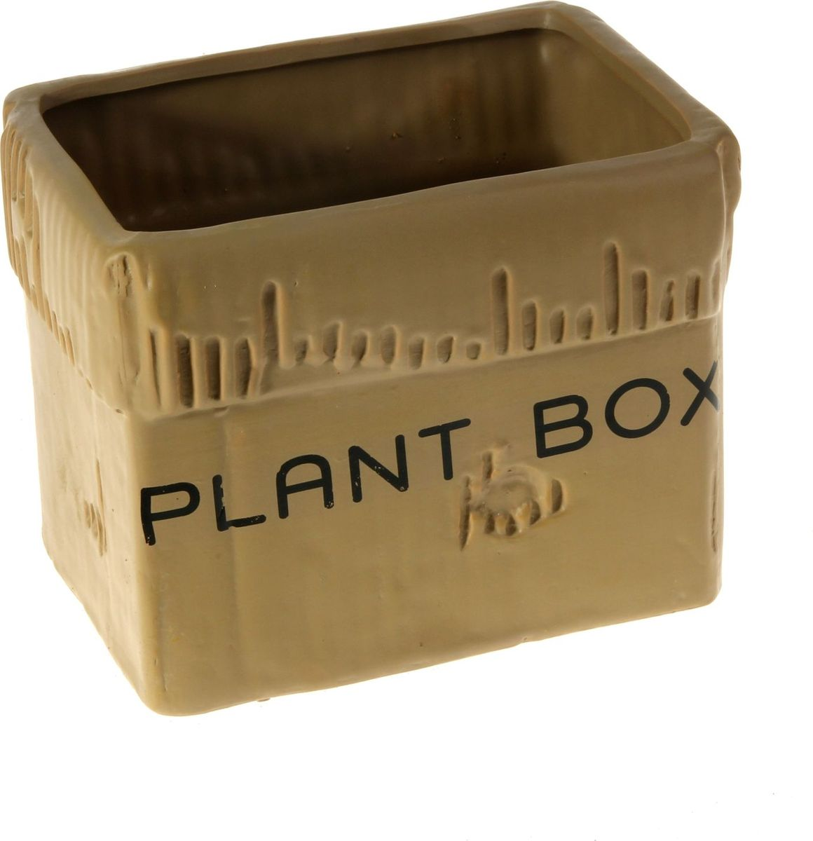 Кашпо Картонная коробка, цвет: коричневый, 13 х 17 х 13 см829931Комнатные растения — всеобщие любимцы. Они радуют глаз, насыщают помещение кислородом и украшают пространство. Каждому из них необходим свой удобный и красивый дом. Кашпо из керамики прекрасно подходят для высадки растений: за счёт пластичности глины и разных способов обработки существует великое множество форм и дизайновпористый материал позволяет испаряться лишней влагевоздух, необходимый для дыхания корней, проникает сквозь керамические стенки! #name# позаботится о зелёном питомце, освежит интерьер и подчеркнёт его стиль.