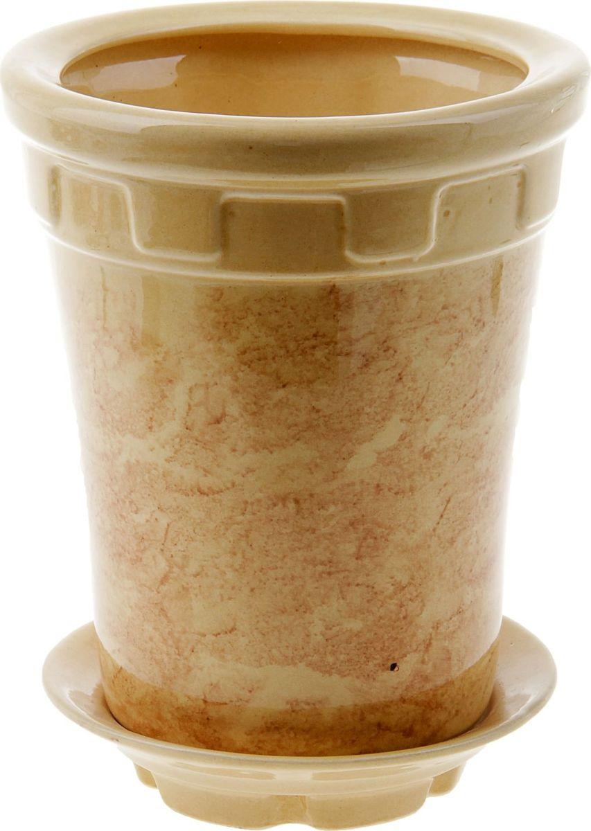 Кашпо Альфа, цвет: бежевый, 1,8 л840571Комнатные растения — всеобщие любимцы. Они радуют глаз, насыщают помещение кислородом и украшают пространство. Каждому из них необходим свой удобный и красивый дом. Кашпо из керамики прекрасно подходят для высадки растений: за счёт пластичности глины и разных способов обработки существует великое множество форм и дизайновпористый материал позволяет испаряться лишней влагевоздух, необходимый для дыхания корней, проникает сквозь керамические стенки! #name# позаботится о зелёном питомце, освежит интерьер и подчеркнёт его стиль.