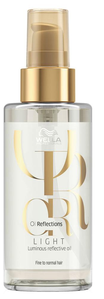 Wella Oil Reflections Light Luminous Reflective Oil Легкое масло для сияющего блеска волос, 30 мл81557421/3267Идеальное решение для обладательниц тонких волос. Масло имеет облегченную текстуру и дарит Эффектное перламутровое сияние волосам, без утяжеления. Масло камелии добавляет чувственности роскошному уходу. Дополните ежедневный уход за тонкими волосами великолепными гладкостью и блеском. Объем: 30 мл