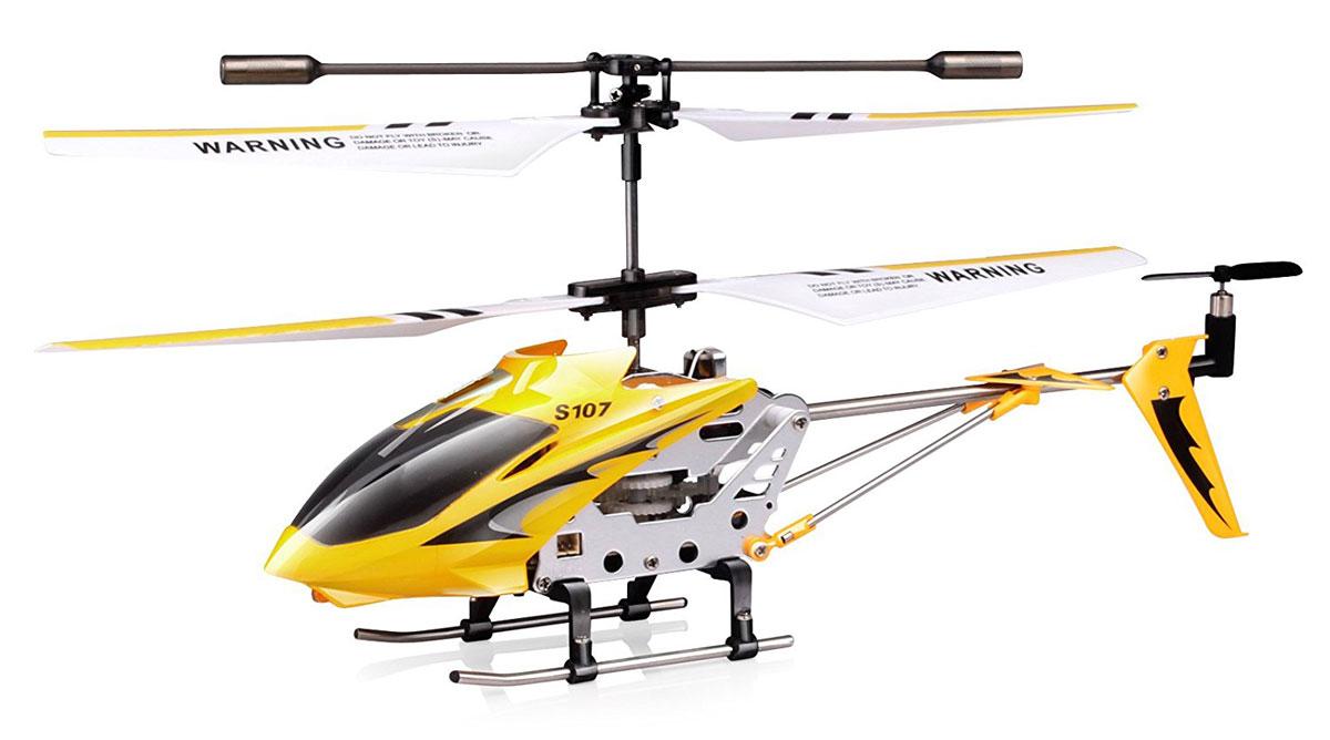 Syma Вертолет на радиоуправлении S107G цвет желтый syma s5 вертолет