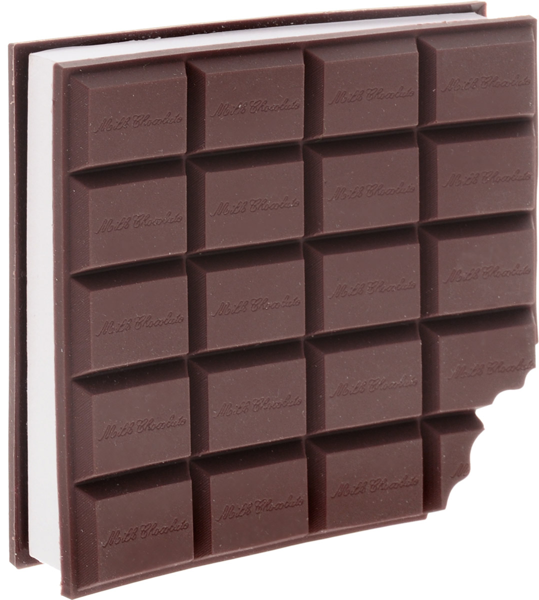 Эврика Блокнот Шоколад93980Блокнот в виде шоколадки станет прекрасным сувениром коллеге.Внутренний блок выполнен из белых листов без линовки.