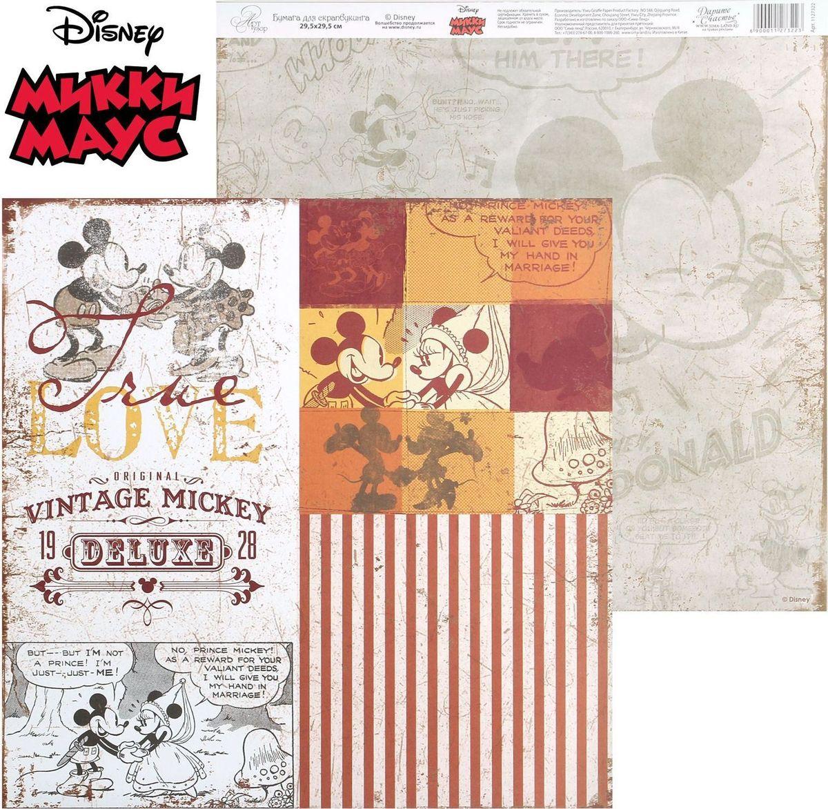"""Бумага для скрапбукинга Disney """"Old"""