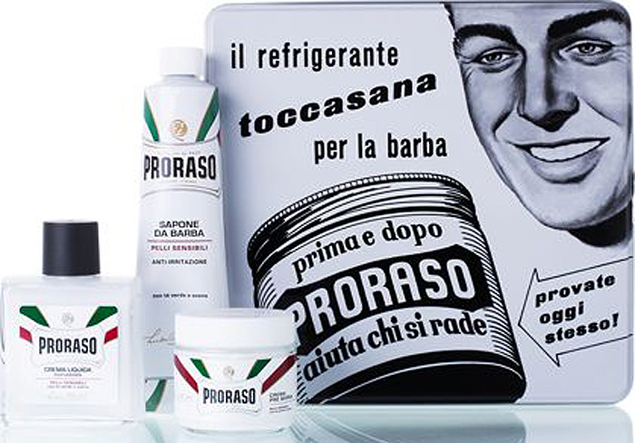 Proraso Набор для бритья Toccasana: крем до бритья, 100 мл, крем для бритья, 150 мл, бальзам после бритья, 100 мл proraso travel shaving set набор для бритья 50 мл