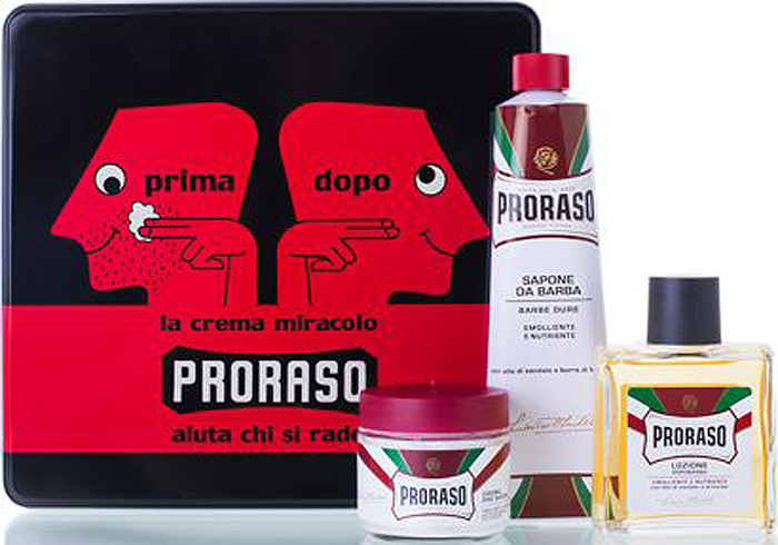 Proraso Набор для бритья Primadopo: крем до бритья, 100 мл, крем для бритья, 150 мл, лосьон после бритья, 100 мл для бритья proraso shaving foam moisturizing and nourishing formula объем 300 мл