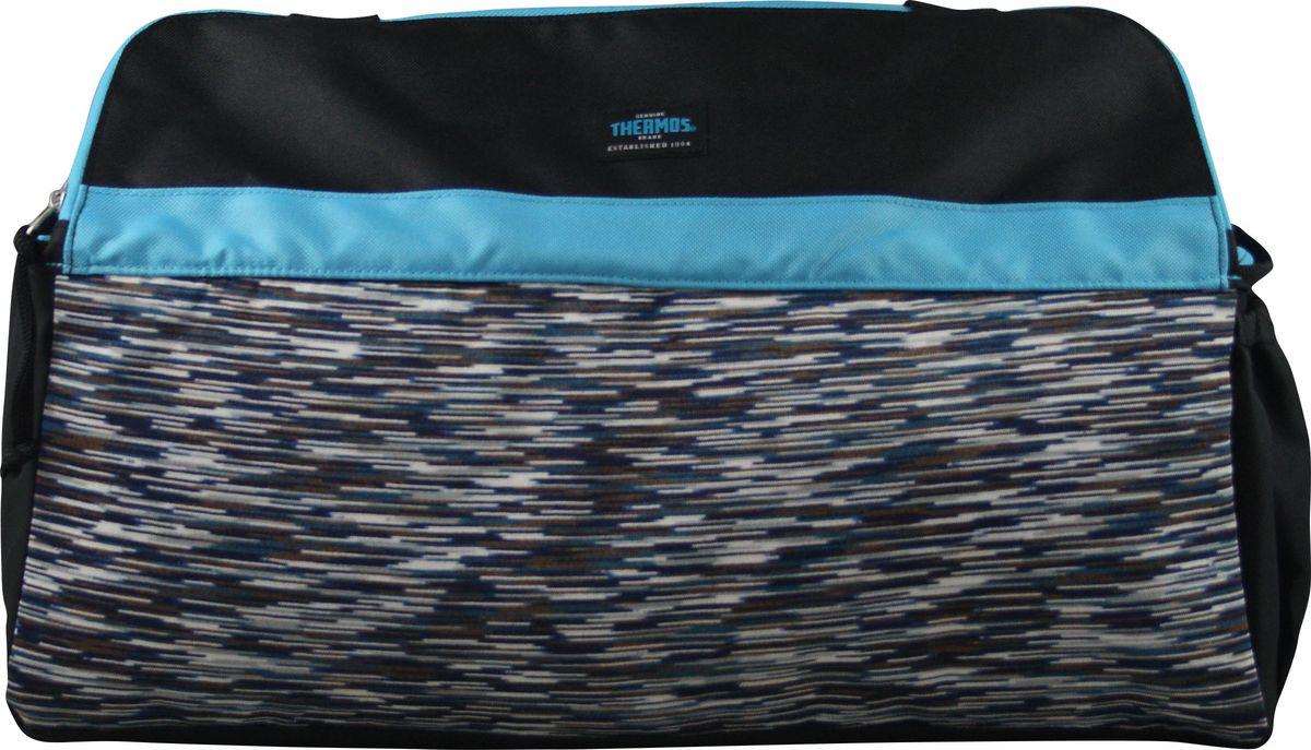 Термосумка Thermos Studio Fitness Yoga Bag, цвет: голубой, 15 л538871Сумка-термос Thermos Studio Fitness Yoga Bag прекрасно подойдет для путешествий, она отличается легкостью и компактностью. Сумка складывается и фиксируется в сложенном положении, что облегчает хранение. Внутреннее наполнение стенок позволяет сохранять продукты замороженными, свежими или теплыми длительное время. Внутренняя поверхность обладает 100% герметичностью. При перевозке жидкостей это позволяет избежать протеканий. Внешняя ткань устойчива к загрязнениям и легка в уходе. Сумка имеет прочные ручки и удобную молнию для быстрого доступа к содержимому.Размер: 40,5 х 20,3 х 30,5 см.