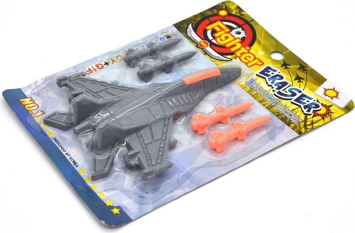 Карамба Ластик Самолет001311Ластик Карамба станет прекрасным дополнением к канцелярскому набору для вашего ребенка. Ластик выполнен в виде большого самолета и четырех снарядов.