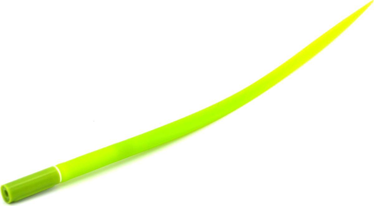 Карамба Ручка шариковая Травинка синяя003148Мягкая, приятная на ощупь силиконовая ручка выполнена в виде травинки.
