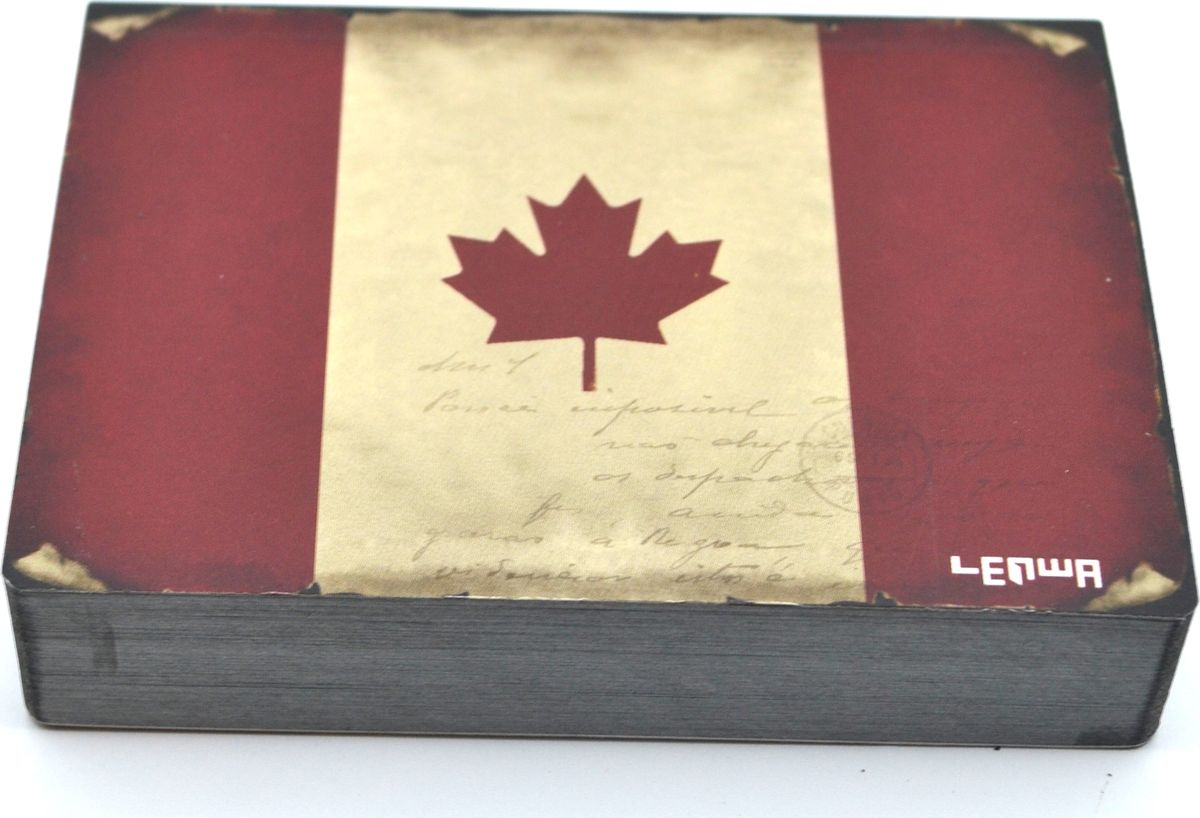 Карамба Блокнот Страны Канада 185 листов3253Блокнот Карамба Страны Канада - незаменимый атрибут современного человека, необходимый для рабочих и повседневных записей в офисе и дома. Блокнот содержит 185 листов.Блокнот станет достойным аксессуаром среди ваших канцелярских принадлежностей. Такой блокнот пригодится как для деловых людей, так и для любителей записывать свои мысли, писать мемуары или делать наброски новых стихотворений.