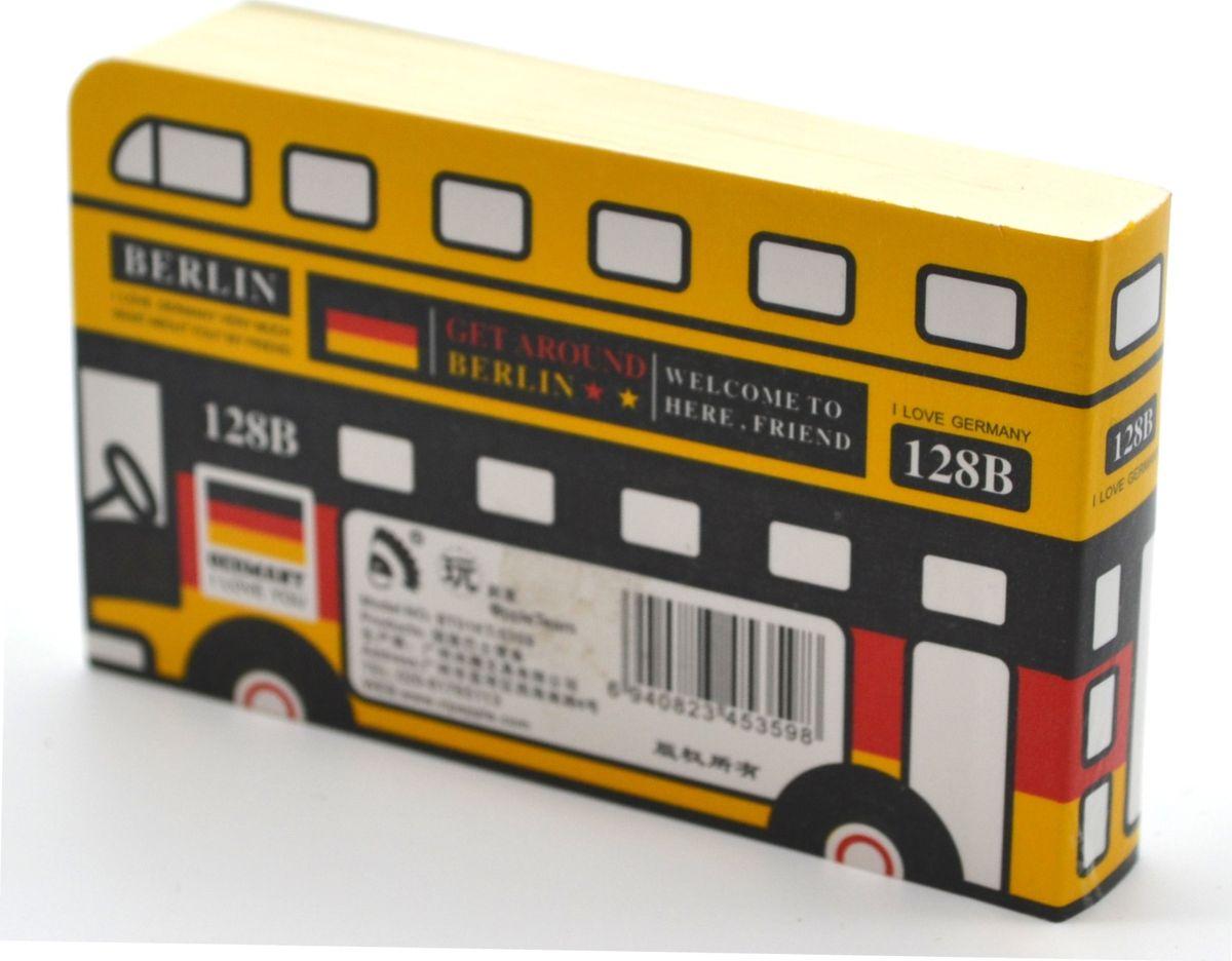 Карамба Блокнот Автобус Германия 128 листов3304Блокнот Карамба Автобус Германия - с расцветкой немецкого флага, незаменимый атрибут современного человека, необходимый для рабочих и повседневных записей в офисе и дома. Блокнот содержит 128 листов.Блокнот станет достойным аксессуаром среди ваших канцелярских принадлежностей. Такой блокнот пригодится как для деловых людей, так и для любителей записывать свои мысли, писать мемуары или делать наброски новых стихотворений.