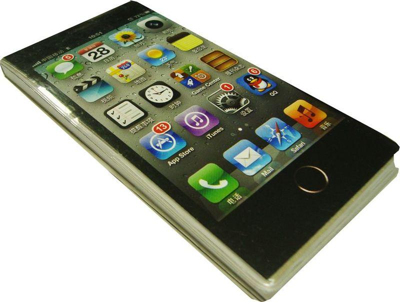 Карамба Блокнот Телефон черный 50 листов в линейку4036Блокнот Карамба Телефон черный - в виде телефона, незаменимый атрибут современного человека, необходимый для рабочих и повседневных записей в офисе и дома. Блокнот содержит 50 листов в линейку.Блокнот станет достойным аксессуаром среди ваших канцелярских принадлежностей. Такой блокнот пригодится как для деловых людей, так и для любителей записывать свои мысли, писать мемуары или делать наброски новых стихотворений.