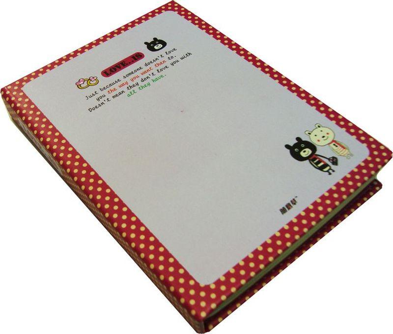 Карамба Блокнот Красная окантовка 100 листов в линейку карамба блокнот fruit цвет красный 144 листа