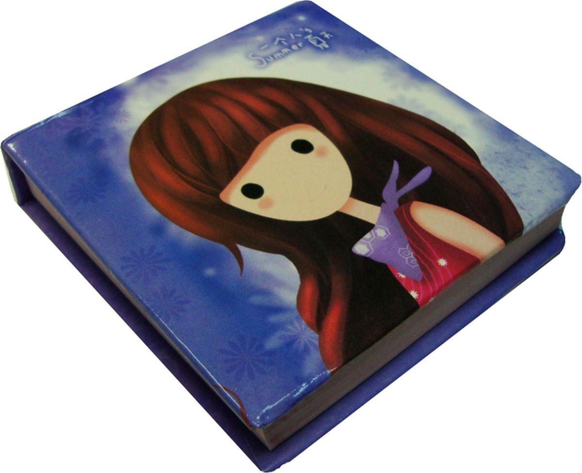 Карамба Блокнот Девочка 95 листов цвет голубой4103Блокнот Карамба Девочка - незаменимый атрибут современного человека, необходимый для рабочих и повседневных записей в офисе и дома. Блокнот содержит 95 листов.Блокнот станет достойным аксессуаром среди ваших канцелярских принадлежностей. Такой блокнот пригодится как для деловых людей, так и для любителей записывать свои мысли, писать мемуары или делать наброски новых стихотворений.