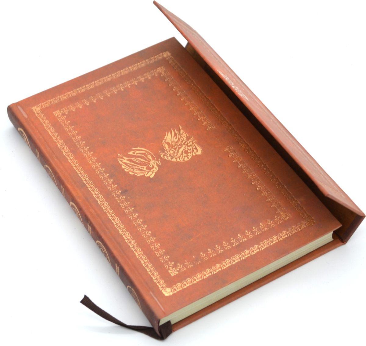 Карамба Блокнот на магните 98 листов цвет коричневый4124Стильный блокнот Карамба с жесткой обложкой - незаменимый атрибут современного человека, необходимый для рабочих и повседневных записей в офисе и дома. Магнитная застежка. 98 цветных листов с нежным рисунком.