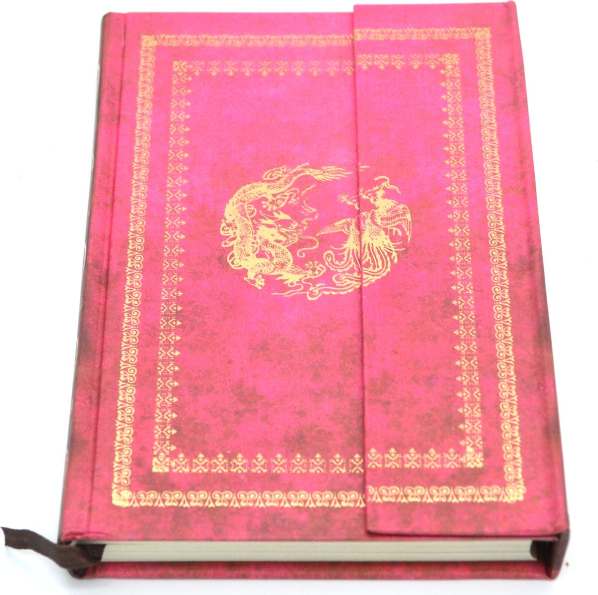 Карамба Блокнот на магните 98 листов цвет розовый753769Стильный блокнот Карамба с жесткой обложкой - незаменимый атрибут современного человека, необходимый для рабочих и повседневных записей в офисе и дома. Магнитная застежка. 98 цветных листов с нежным рисунком.