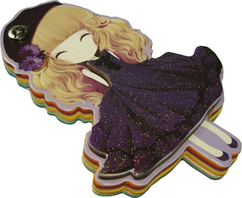 Карамба Блокнот Девочка Фиолетовое платье 96 листов4772Блокнот Карамба Девочка Фиолетовое платье содержит 96 листов.Блокнот станет достойным аксессуаром среди ваших канцелярских принадлежностей.