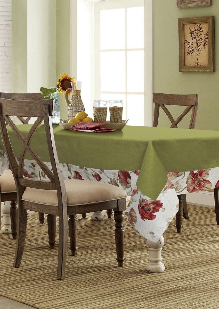 """Прямоугольная скатерть Kauffort """"Кардинал"""" органично впишется в интерьер вашей кухни, а оригинальный дизайн удовлетворит даже самый изысканный вкус. Изделие выполнено из полиэстера и хлопка. По краю скатерть оформлена кантом. Скатерть поможет создать атмосферу уюта и домашнего тепла в интерьере вашей кухни, а также станет настоящим украшением праздничного стола."""