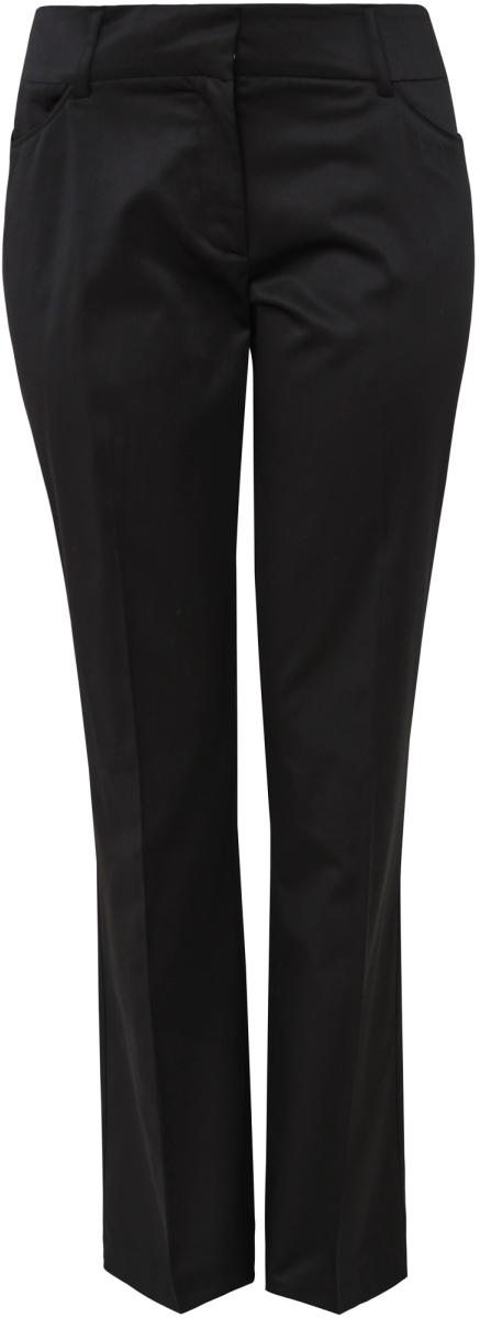 Брюки женские oodji Collection, цвет: черный. 21706013-1/18115/2900N. Размер 36-170 (42-170) платье oodji collection цвет черный белый 24001104 1 35477 1079s размер l 48