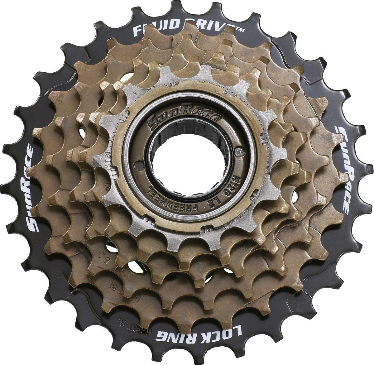 Классическая трещотка на 6 скоростей. Подходит для задних втулок велосипедов на 6 скоростей трещоточного типа. Набор высокопрочных стальных звезд дают максимально широкий диапазон передаточных чисел, комфортный практически при любом стиле езды. • 6 скоростей • Набор звезд 14-16-18-21-24-28 • Для задних втулок трещоточного типа  BIKE ATTITUDE – это крупнейший Тайваньский производитель высококачественных велосипедных аксессуаров и запчастей. Уже более 10-и лет Bike Attitude представляет свои товары в 15 странах мира.
