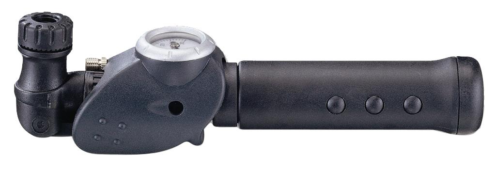 Насос велосипедный Bike Attitude GP83, ручной, цвет: черныйDPM0-GP83-BA02Bike Attitude GP83 - легкий универсальный пластиковый насос с манометром и гибкой подводкой воздушного порта, позволяющий накачивать давление до 7 атмосфер. Гибкая подводка позволяет получать доступ к труднодоступным ниппелям детских велосипедов и колясок. В комплекте с насосом идет игла для накачивания спортивных мячей, которая удобно прячется в корпусе насоса.Для всех ниппелей: Presta, Schrader и Dunlop.Накачка давления до 7 Bar (100 Psi).