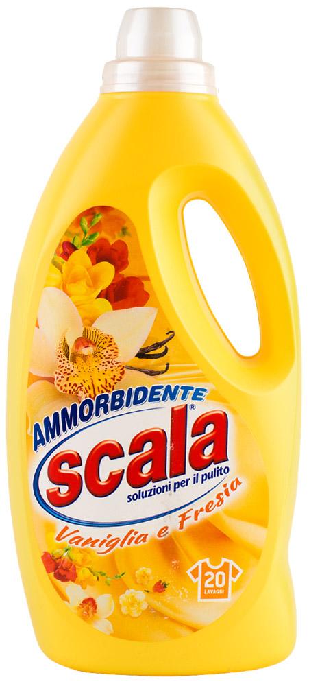 Бальзам для белья SCALA Ваниль и Фрезия, на 20 стирок, 1,7 лD1012396Концентрированный кондиционер для ткани с новым свежим ароматом. Для длительного ощущения чистоты.