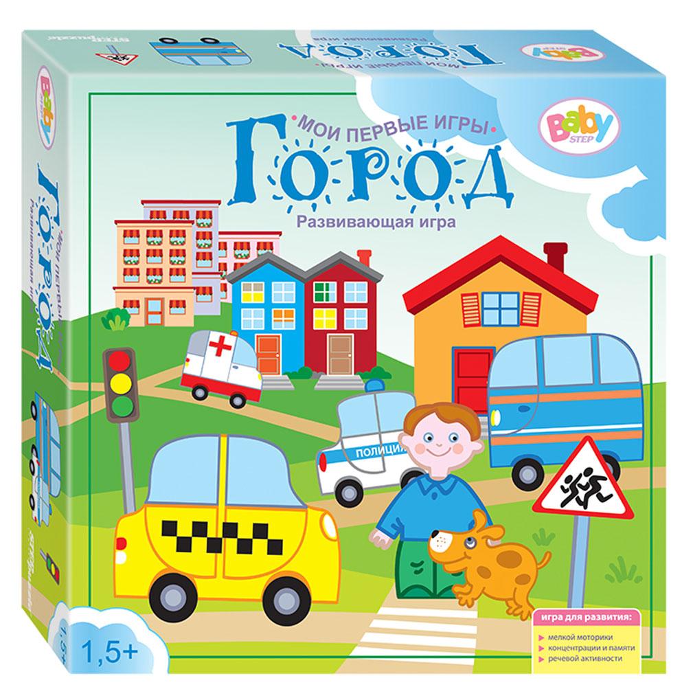 Step Puzzle Развивающая игра Город step puzzle город