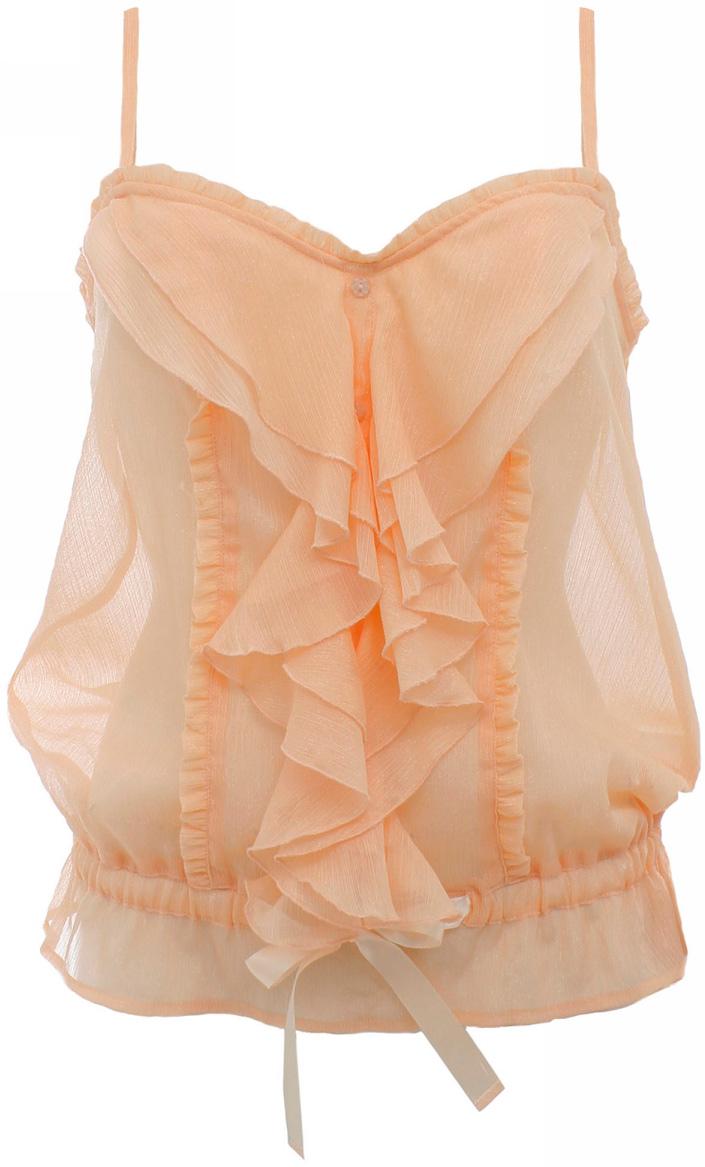 Блузка женская oodji Ultra, цвет: светло-розовый металлик. 11402078/14322/4000X. Размер 42 (48-164) блузка miamoda klingel цвет розовый белый