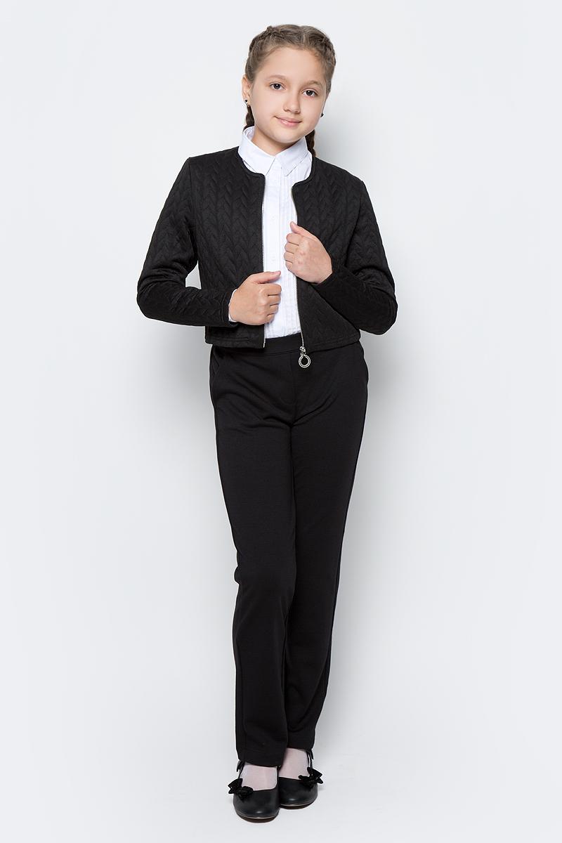 Жакет для девочки Nota Bene, цвет: черный. CJU27012B21. Размер 146 платье tutto bene tutto bene tu009ewzwn18