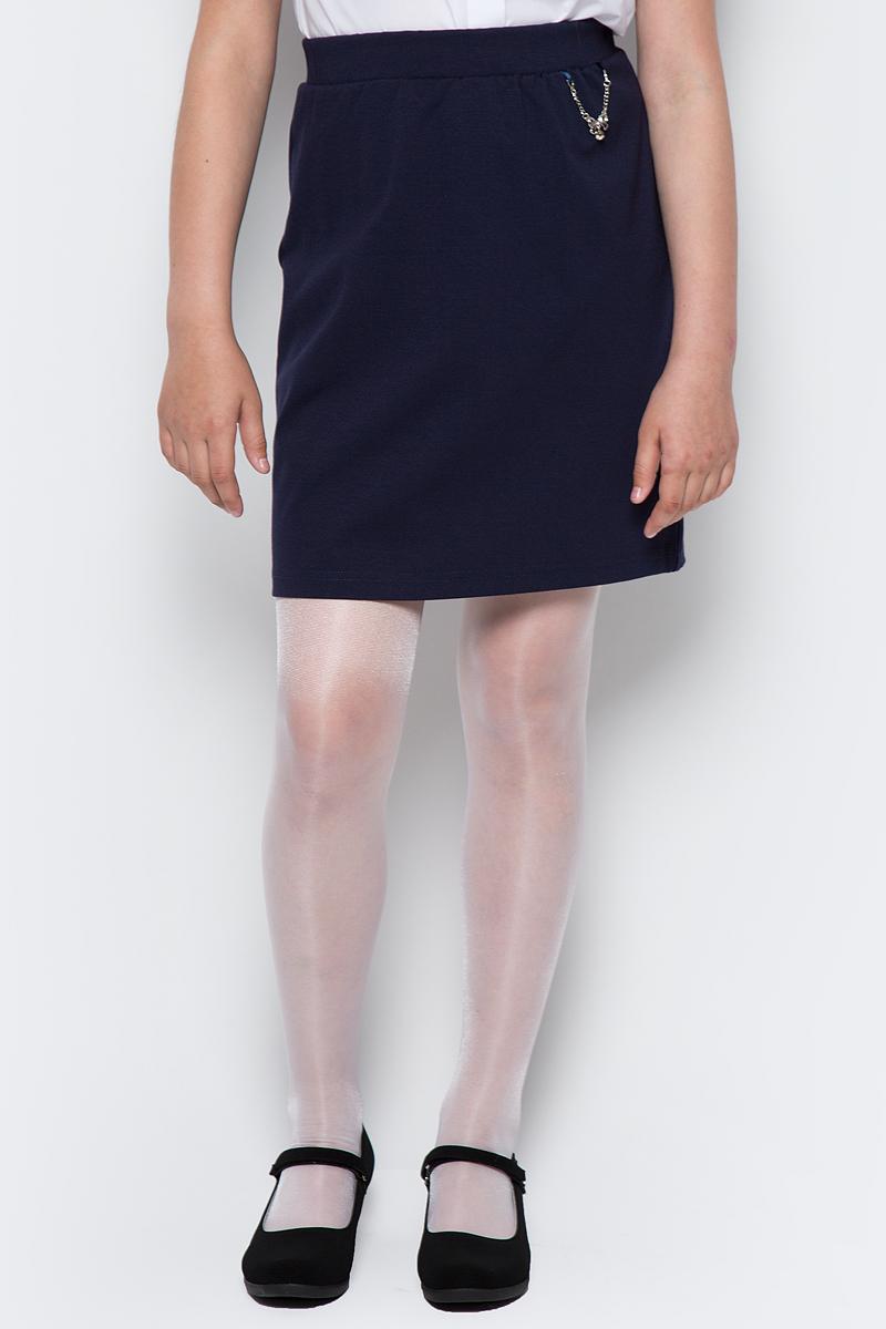 Юбка для девочки Nota Bene, цвет: темно-синий. CJA27007_29. Размер 164 джемпер для девочки nota bene цвет темно синий розовый cjr27050 29 размер 134
