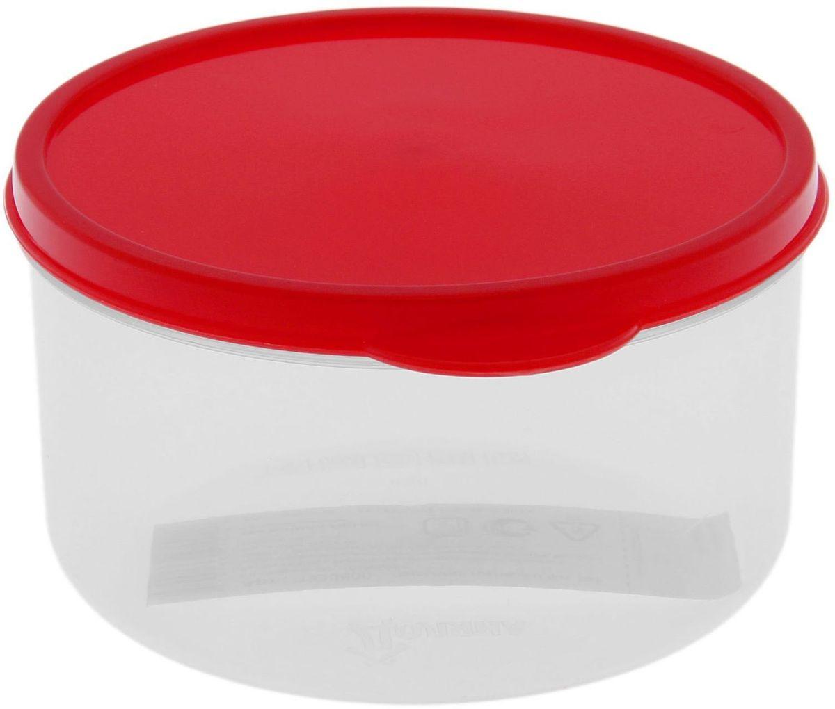 Контейнер пищевой Доляна, цвет: прозрачный, красный, 500 мл1333800Если после вкусного обеда осталась еда, а насладиться трапезой хочется и на следующий день, пищевой контейнер Доляна станет отличным решением данной проблемы!Такой контейнер является незаменимым предметом кухонной утвари, ведь у него много преимуществ:Простота ухода. Ланч-бокс достаточно промыть теплой водой с небольшим количеством чистящего средства, и он снова готов к использованию.Вместительность. Большой выбор форм и объема поможет разместить разнообразные продукты от сахара до супов.Эргономичность. Ланч-боксы очень легко хранить даже в самой маленькой кухне, так как их можно поставить один в другой по принципу матрешки.Многофункциональность. Разнообразие цветов и форм делает возможным использование контейнеров не только на кухне, но и в других областях домашнего быта.Любители приготовления обеда на всю семью в большинстве случаев приобретают контейнеры наборами, так как это позволяет рассортировать продукты по всевозможным признакам. К тому же контейнеры среднего размера станут незаменимыми помощниками на работе: ведь что может быть приятнее, чем порадовать себя во время обеда прекрасной едой, заботливо сохраненной в контейнере?В качестве материала для изготовления используется пластик, что делает процесс ухода за контейнером еще более эффективным. К каждому ланч-боксу в комплекте также прилагается крышка подходящего размера, это позволяет плотно и надёжно удерживать запах еды и упрощает процесс транспортировки.Однако рекомендуется соблюдать и меры предосторожности: не использовать пластиковые контейнеры в духовых шкафах и на открытом огне, а также не разогревать в микроволновых печах при закрытой крышке контейнера. Соблюдение мер безопасности позволит продлить срок эксплуатации и сохранить отличный внешний вид изделия.