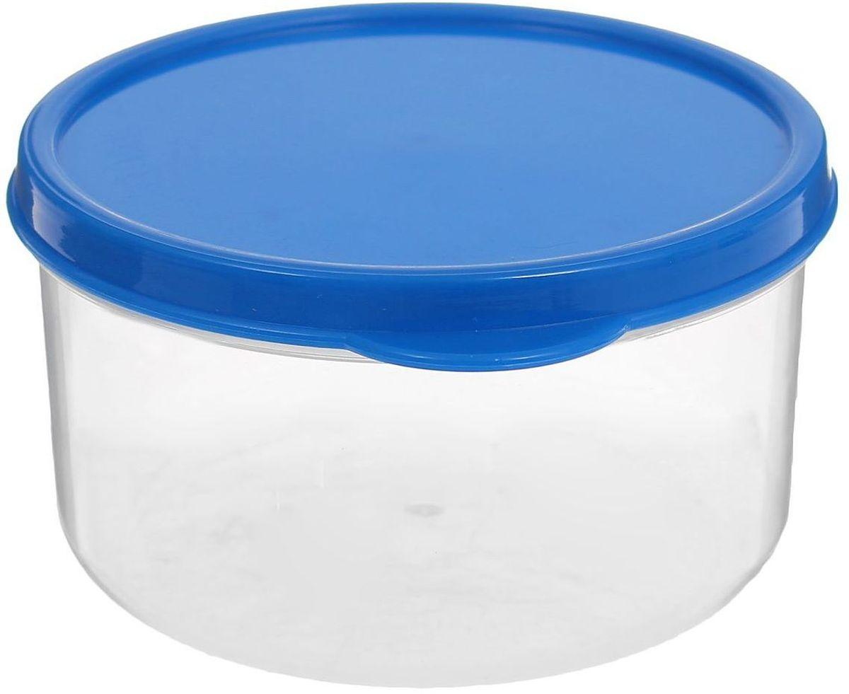 Контейнер пищевой Доляна, круглый, цвет: синий, 300 мл1333805Если после вкусного обеда осталась еда, а насладиться трапезой хочется и на следующий день, ланч-бокс станет отличным решением данной проблемы!Такой контейнер является незаменимым предметом кухонной утвари, ведь у него много преимуществ:Простота ухода. Ланч-бокс достаточно промыть тёплой водой с небольшим количеством чистящего средства, и он снова готов к использованию.Вместительность. Большой выбор форм и объёма поможет разместить разнообразные продукты от сахара до супов.Эргономичность. Ланч-боксы очень легко хранить даже в самой маленькой кухне, так как их можно поставить один в другой по принципу матрёшки.Многофункциональность. Разнообразие цветов и форм делает возможным использование контейнеров не только на кухне, но и в других областях домашнего быта.Любители приготовления обеда на всю семью в большинстве случаев приобретают ланч-боксы наборами, так как это позволяет рассортировать продукты по всевозможным признакам. К тому же контейнеры среднего размера станут незаменимыми помощниками на работе: ведь что может быть приятнее, чем порадовать себя во время обеда прекрасной едой, заботливо сохранённой в контейнере?В качестве материала для изготовления используется пластик, что делает процесс ухода за контейнером ещё более эффективным. К каждому ланч-боксу в комплекте также прилагается крышка подходящего размера, это позволяет плотно и надёжно удерживать запах еды и упрощает процесс транспортировки.Однако рекомендуется соблюдать и меры предосторожности: не использовать пластиковые контейнеры в духовых шкафах и на открытом огне, а также не разогревать в микроволновых печах при закрытой крышке ланч-бокса. Соблюдение мер безопасности позволит продлить срок эксплуатации и сохранить отличный внешний вид изделия.Эргономичный дизайн и многофункциональность таких контейнеров — вот, что является причиной большой популярности данного предмета у каждой хозяйки. А в преддверии лета и дачного сезона такое приобретен