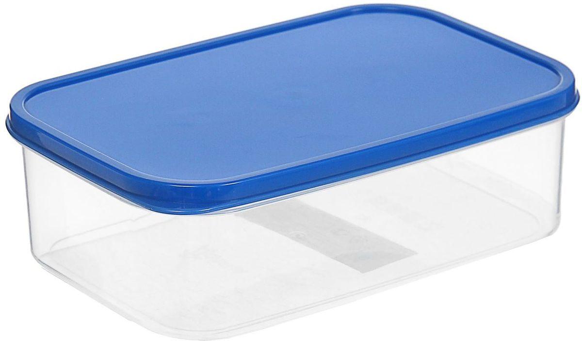 Контейнер пищевой Доляна, цвет: синий, 1,2 л1333821Если после вкусного обеда осталась еда, а насладиться трапезой хочется и на следующий день, ланч-бокс станет отличным решением данной проблемы!Такой контейнер является незаменимым предметом кухонной утвари, ведь у него много преимуществ:Простота ухода. Ланч-бокс достаточно промыть тёплой водой с небольшим количеством чистящего средства, и он снова готов к использованию.Вместительность. Большой выбор форм и объёма поможет разместить разнообразные продукты от сахара до супов.Эргономичность. Ланч-боксы очень легко хранить даже в самой маленькой кухне, так как их можно поставить один в другой по принципу матрёшки.Многофункциональность. Разнообразие цветов и форм делает возможным использование контейнеров не только на кухне, но и в других областях домашнего быта.Любители приготовления обеда на всю семью в большинстве случаев приобретают ланч-боксы наборами, так как это позволяет рассортировать продукты по всевозможным признакам. К тому же контейнеры среднего размера станут незаменимыми помощниками на работе: ведь что может быть приятнее, чем порадовать себя во время обеда прекрасной едой, заботливо сохранённой в контейнере?В качестве материала для изготовления используется пластик, что делает процесс ухода за контейнером ещё более эффективным. К каждому ланч-боксу в комплекте также прилагается крышка подходящего размера, это позволяет плотно и надёжно удерживать запах еды и упрощает процесс транспортировки.Однако рекомендуется соблюдать и меры предосторожности: не использовать пластиковые контейнеры в духовых шкафах и на открытом огне, а также не разогревать в микроволновых печах при закрытой крышке ланч-бокса. Соблюдение мер безопасности позволит продлить срок эксплуатации и сохранить отличный внешний вид изделия.Эргономичный дизайн и многофункциональность таких контейнеров — вот, что является причиной большой популярности данного предмета у каждой хозяйки. А в преддверии лета и дачного сезона такое приобретение позволи