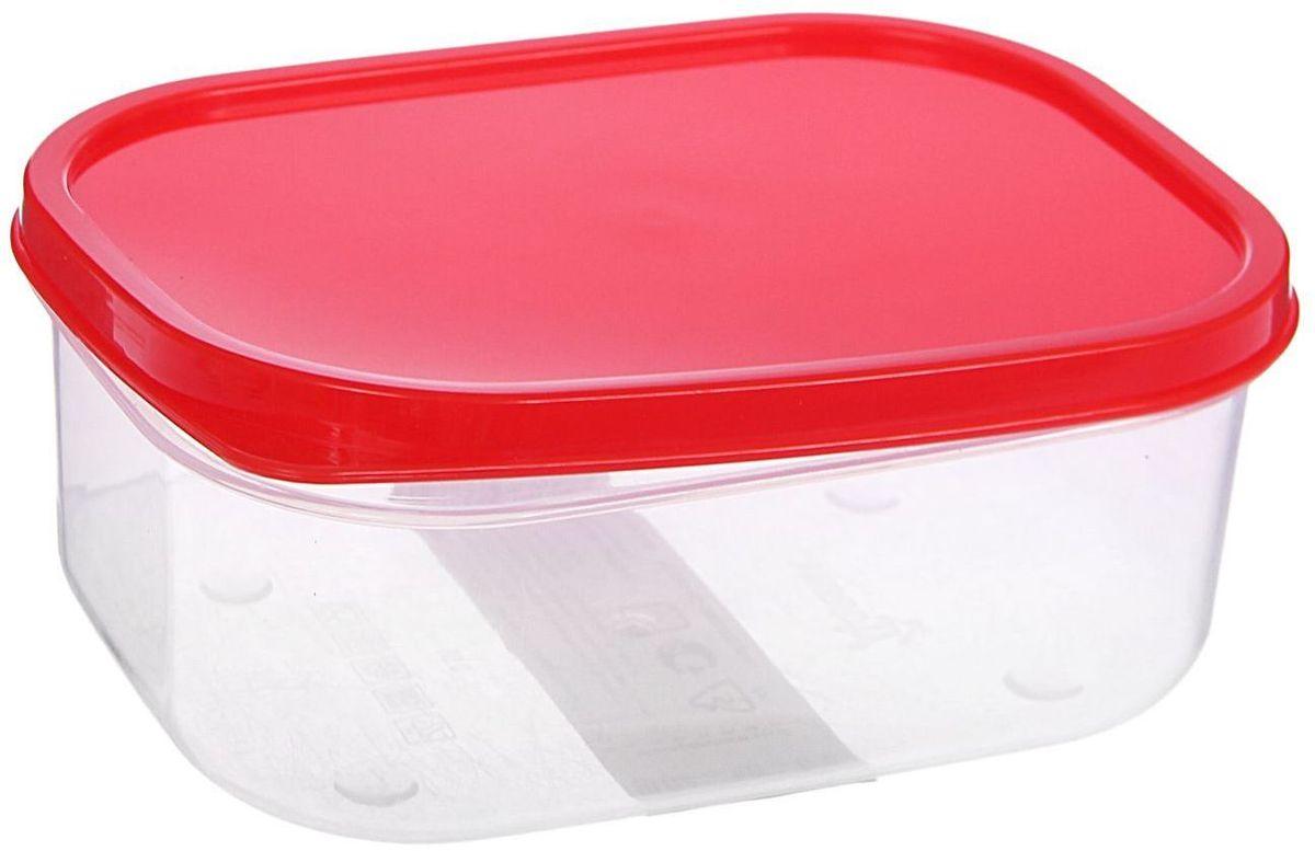 Контейнер пищевой Доляна, цвет: красный, 500 мл1333832Контейнер Доляна является незаменимым предметом кухонной утвари, ведь у него много преимуществ: - Простота ухода. Ланч-бокс достаточно промыть тёплой водой с небольшим количеством чистящего средства, и он снова готов к использованию. - Вместительность. Большой выбор форм и объёма поможет разместить разнообразные продукты от сахара до супов. - Эргономичность. Ланч-боксы очень легко хранить даже в самой маленькой кухне, так как их можно поставить один в другой по принципу матрёшки. - Многофункциональность. Разнообразие цветов и форм делает возможным использование контейнеров не только на кухне, но и в других областях домашнего быта. В качестве материала для изготовления используется пластик, что делает процесс ухода за контейнером ещё более эффективным. К ланч-боксу в комплекте также прилагается крышка подходящего размера, это позволяет плотно и надёжно удерживать запах еды и упрощает процесс транспортировки. Однако рекомендуется соблюдать и меры предосторожности: не использовать пластиковые контейнеры в духовых шкафах и на открытом огне, а также не разогревать в микроволновых печах при закрытой крышке ланч-бокса. Соблюдение мер безопасности позволит продлить срок эксплуатации и сохранить отличный внешний вид изделия. Эргономичный дизайн и многофункциональность таких контейнеров — вот, что является причиной большой популярности данного предмета у каждой хозяйки. А в преддверии лета и дачного сезона такое приобретение позволит поднять отдых на природе совсем на новый уровень!