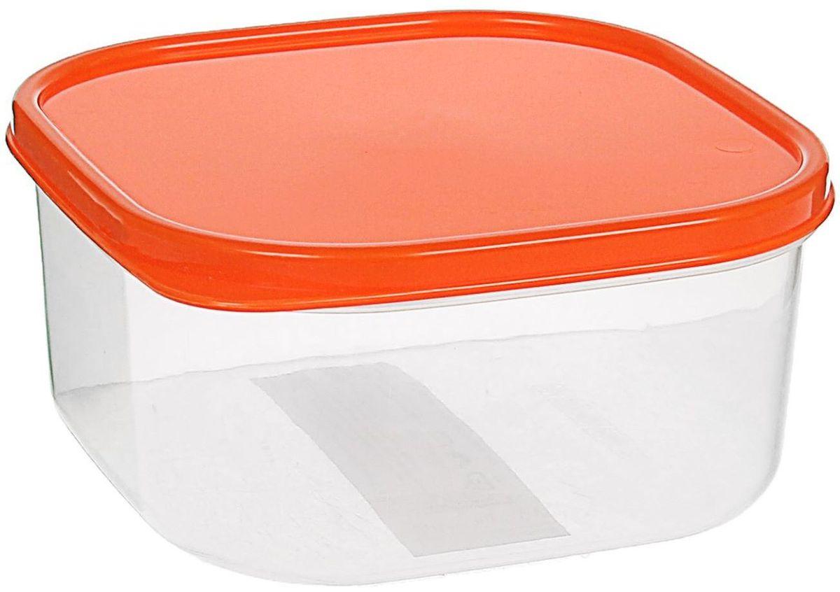 Контейнер пищевой Доляна, цвет: оранжевый, 700 мл1333846Если после вкусного обеда осталась еда, а насладиться трапезой хочется и на следующий день, ланч-бокс станет отличным решением данной проблемы! Такой контейнер является незаменимым предметом кухонной утвари, ведь у него много преимуществ: Простота ухода. Ланч-бокс достаточно промыть тёплой водой с небольшим количеством чистящего средства, и он снова готов к использованию. Вместительность. Большой выбор форм и объёма поможет разместить разнообразные продукты от сахара до супов. Эргономичность. Ланч-боксы очень легко хранить даже в самой маленькой кухне, так как их можно поставить один в другой по принципу матрёшки. Многофункциональность. Разнообразие цветов и форм делает возможным использование контейнеров не только на кухне, но и в других областях домашнего быта. Любители приготовления обеда на всю семью в большинстве случаев приобретают ланч-боксы наборами, так как это позволяет рассортировать продукты по всевозможным признакам. К тому же контейнеры среднего размера станут незаменимыми помощниками на работе: ведь что может быть приятнее, чем порадовать себя во время обеда прекрасной едой, заботливо сохранённой в контейнере? В качестве материала для изготовления используется пластик, что делает процесс ухода за контейнером ещё более эффективным. К каждому ланч-боксу в комплекте также прилагается крышка подходящего размера, это позволяет плотно и надёжно удерживать запах еды и упрощает процесс транспортировки. Однако рекомендуется соблюдать и меры предосторожности: не использовать пластиковые контейнеры в духовых шкафах и на открытом огне, а также не разогревать в микроволновых печах при закрытой крышке ланч-бокса. Соблюдение мер безопасности позволит продлить срок эксплуатации и сохранить отличный внешний вид изделия. Эргономичный дизайн и многофункциональность таких контейнеров — вот, что является причиной большой популярности данного предмета у каждой хозяйки. А в преддверии лета и дачного сезона такое приобр