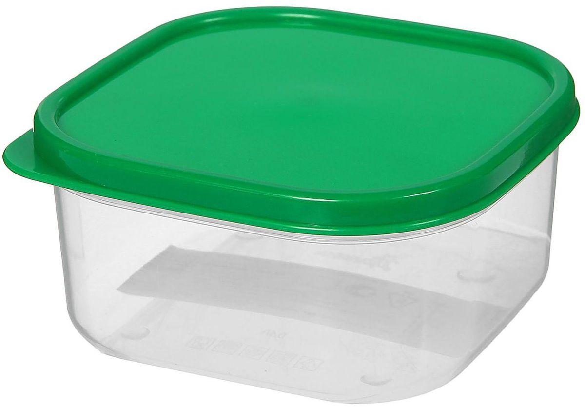 Контейнер пищевой Доляна, цвет: зеленый, 400 мл1333855Если после вкусного обеда осталась еда, а насладиться трапезой хочется и на следующий день, ланч-бокс станет отличным решением данной проблемы!Такой контейнер является незаменимым предметом кухонной утвари, ведь у него много преимуществ:Простота ухода. Ланч-бокс достаточно промыть тёплой водой с небольшим количеством чистящего средства, и он снова готов к использованию.Вместительность. Большой выбор форм и объёма поможет разместить разнообразные продукты от сахара до супов.Эргономичность. Ланч-боксы очень легко хранить даже в самой маленькой кухне, так как их можно поставить один в другой по принципу матрёшки.Многофункциональность. Разнообразие цветов и форм делает возможным использование контейнеров не только на кухне, но и в других областях домашнего быта.Любители приготовления обеда на всю семью в большинстве случаев приобретают ланч-боксы наборами, так как это позволяет рассортировать продукты по всевозможным признакам. К тому же контейнеры среднего размера станут незаменимыми помощниками на работе: ведь что может быть приятнее, чем порадовать себя во время обеда прекрасной едой, заботливо сохранённой в контейнере?В качестве материала для изготовления используется пластик, что делает процесс ухода за контейнером ещё более эффективным. К каждому ланч-боксу в комплекте также прилагается крышка подходящего размера, это позволяет плотно и надёжно удерживать запах еды и упрощает процесс транспортировки.Однако рекомендуется соблюдать и меры предосторожности: не использовать пластиковые контейнеры в духовых шкафах и на открытом огне, а также не разогревать в микроволновых печах при закрытой крышке ланч-бокса. Соблюдение мер безопасности позволит продлить срок эксплуатации и сохранить отличный внешний вид изделия.Эргономичный дизайн и многофункциональность таких контейнеров — вот, что является причиной большой популярности данного предмета у каждой хозяйки. А в преддверии лета и дачного сезона такое приобретение позв