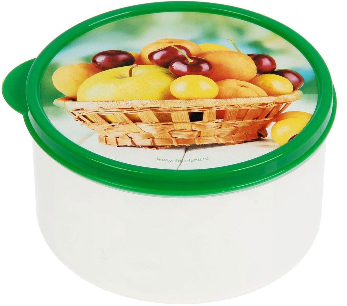 Ланч-бокс Доляна №12, круглый, 500 мл1333901Если после вкусного обеда осталась еда, а насладиться трапезой хочется и на следующий день, ланч-бокс станет отличным решением данной проблемы!Такой контейнер является незаменимым предметом кухонной утвари, ведь у него много преимуществ:Простота ухода. Ланч-бокс достаточно промыть тёплой водой с небольшим количеством чистящего средства, и он снова готов к использованию.Вместительность. Большой выбор форм и объёма поможет разместить разнообразные продукты от сахара до супов.Эргономичность. Ланч-боксы очень легко хранить даже в самой маленькой кухне, так как их можно поставить один в другой по принципу матрёшки.Многофункциональность. Разнообразие цветов и форм делает возможным использование контейнеров не только на кухне, но и в других областях домашнего быта.Любители приготовления обеда на всю семью в большинстве случаев приобретают ланч-боксы наборами, так как это позволяет рассортировать продукты по всевозможным признакам. К тому же контейнеры среднего размера станут незаменимыми помощниками на работе: ведь что может быть приятнее, чем порадовать себя во время обеда прекрасной едой, заботливо сохранённой в контейнере?В качестве материала для изготовления используется пластик, что делает процесс ухода за контейнером ещё более эффективным. К каждому ланч-боксу в комплекте также прилагается крышка подходящего размера, это позволяет плотно и надёжно удерживать запах еды и упрощает процесс транспортировки.Однако рекомендуется соблюдать и меры предосторожности: не использовать пластиковые контейнеры в духовых шкафах и на открытом огне, а также не разогревать в микроволновых печах при закрытой крышке ланч-бокса. Соблюдение мер безопасности позволит продлить срок эксплуатации и сохранить отличный внешний вид изделия.Эргономичный дизайн и многофункциональность таких контейнеров — вот, что является причиной большой популярности данного предмета у каждой хозяйки. А в преддверии лета и дачного сезона такое приобретение позволит подня