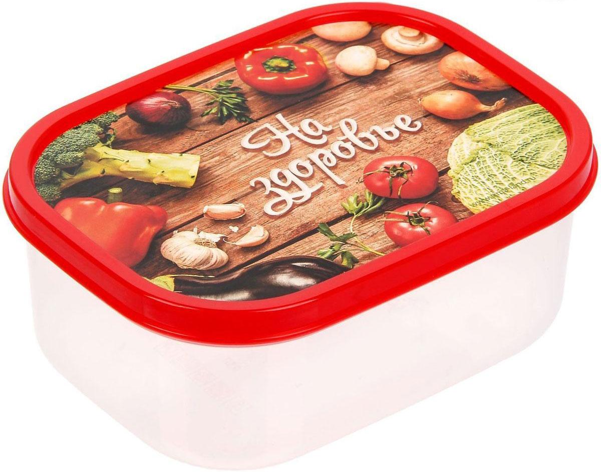 Ланч-бокс Доляна На здоровье, прямоугольный, 500 мл1333951Ланч-бокс Доляна изготовлен из прочного пищевого пластика. В комплекте прилагается крышка подходящего размера, которая плотно и надежно закрывается и упрощает процесс транспортировки. Такой контейнер является незаменимым предметом кухонной утвари, ведь у него много преимуществ: Простота ухода. Ланч-бокс достаточно промыть теплой водой с небольшим количеством чистящего средства. Вместительность. Изделие позволяет разместить разнообразные продукты от сахара до супов. Эргономичность. Ланч-боксы очень легко хранить даже в самой маленькой кухне, так как их можно поставить один в другой по принципу матрешки. Многофункциональность. Он пригодится, если после вкусного обеда осталась еда, а насладиться трапезой хочется и на следующий день. Можно использовать не только на кухне, но и для хранения различных бытовых предметов, а также брать с собой еду на работу или учебу. Не использовать пластиковые контейнеры в духовых шкафах и на открытом огне, а также не разогревать в микроволновых печах при закрытой крышке ланч-бокса.