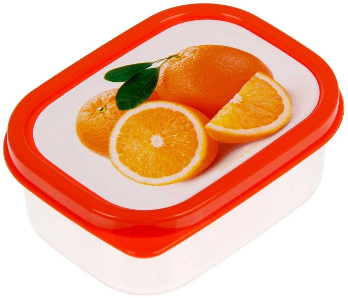 Ланч-бокс Доляна Апельсины, прямоугольный, 150 мл1333967Ланч-бокс Доляна изготовлен из прочного пищевого пластика. В комплекте прилагается крышка подходящего размера, которая плотно и надежно закрывается и упрощает процесс транспортировки. Такой контейнер является незаменимым предметом кухонной утвари, ведь у него много преимуществ: Простота ухода. Ланч-бокс достаточно промыть теплой водой с небольшим количеством чистящего средства. Вместительность. Изделие позволяет разместить разнообразные продукты от сахара до супов. Эргономичность. Ланч-боксы очень легко хранить даже в самой маленькой кухне, так как их можно поставить один в другой по принципу матрешки. Многофункциональность. Он пригодится, если после вкусного обеда осталась еда, а насладиться трапезой хочется и на следующий день. Можно использовать не только на кухне, но и для хранения различных бытовых предметов, а также брать с собой еду на работу или учебу. Не использовать пластиковые контейнеры в духовых шкафах и на открытом огне, а также не разогревать в микроволновых печах при закрытой крышке ланч-бокса.