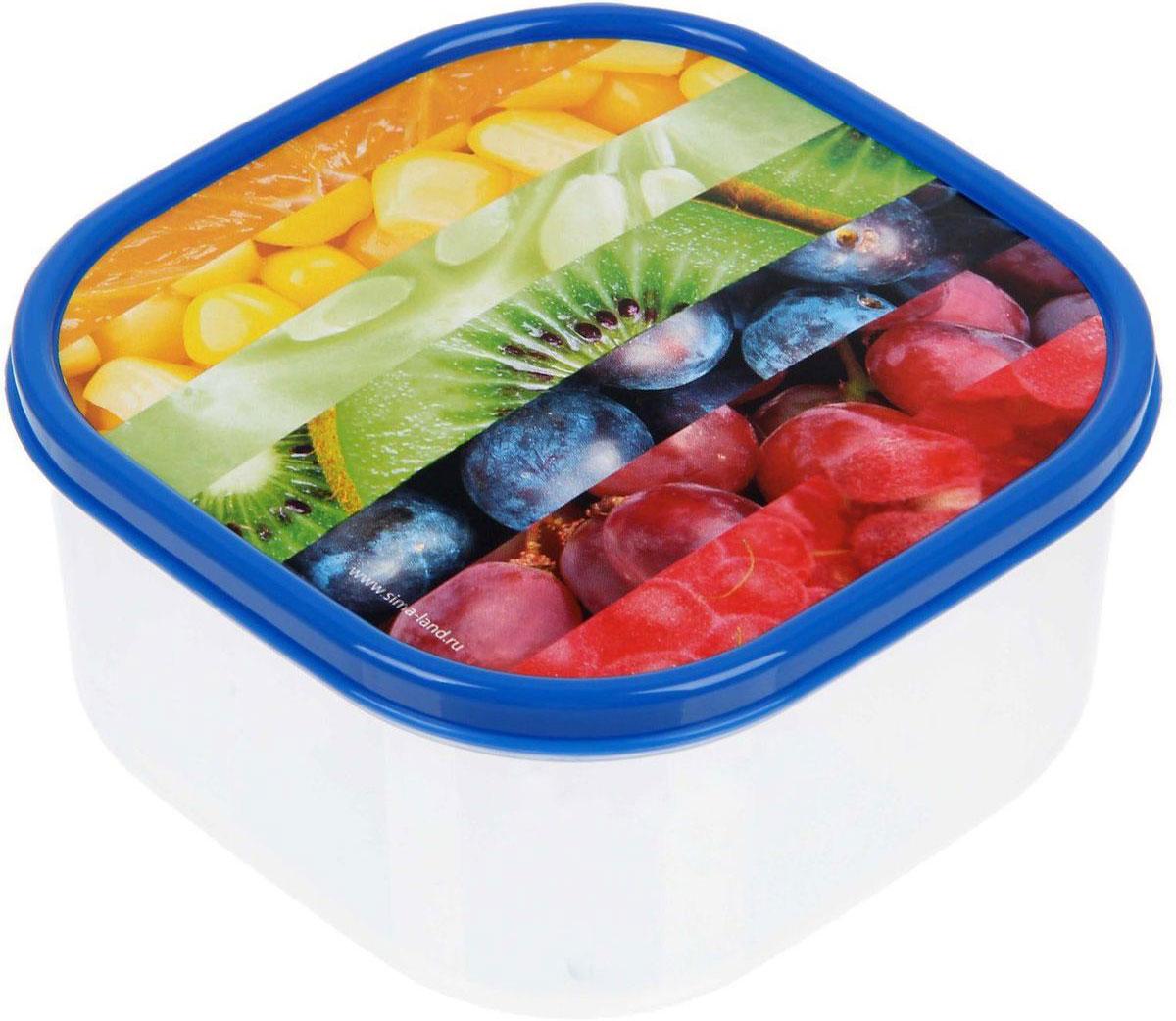 Ланч-бокс Доляна №2, квадратный, 700 мл1333975Контейнер является незаменимым предметом кухонной утвари, ведь у него много преимуществ: Простота ухода. Ланч-бокс достаточно промыть тёплой водой с небольшим количеством чистящего средства, и он снова готов к использованию.Вместительность. Большой выбор форм и объёма поможет разместить разнообразные продукты от сахара до супов. Эргономичность. Ланч-боксы очень легко хранить даже в самой маленькой кухне, так как их можно поставить один в другой по принципуматрёшки. Многофункциональность. Разнообразие цветов и форм делает возможным использование контейнеров не только на кухне, но и в других областяхдомашнего быта. В качестве материала для изготовления используется пластик, что делает процесс ухода за контейнером ещё более эффективным. К каждомуланч-боксу в комплекте также прилагается крышка подходящего размера, это позволяет плотно и надёжно удерживать запах еды и упрощаетпроцесс транспортировки. Однако рекомендуется соблюдать и меры предосторожности: не использовать пластиковые контейнеры в духовых шкафах и на открытом огне, атакже не разогревать в микроволновых печах при закрытой крышке ланч-бокса. Соблюдение мер безопасности позволит продлить срокэксплуатации и сохранить отличный внешний вид изделия.
