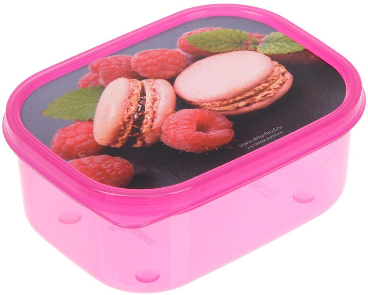 Ланч-бокс Доляна. №21, прямоугольный, цвет: розовый, 500 мл1699872Ланч-бокс Доляна. №21 является незаменимым предметом кухонной утвари, ведь у него много преимуществ:- Простота ухода. Ланч-бокс достаточно промыть тёплой водой с небольшим количеством чистящего средства, и он снова готов к использованию.- Вместительность. Поможет разместить разнообразные продукты от сахара до супов.- Эргономичность. Ланч-бокс очень легко хранить даже в самой маленькой кухне.- Многофункциональность. Разнообразие цветов и форм делает возможным использование контейнеров не только на кухне, но и в других областях домашнего быта.В качестве материала для изготовления используется пластик, что делает процесс ухода за контейнером ещё более эффективным. К ланч-боксу в комплекте прилагается крышка подходящего размера, это позволяет плотно и надёжно удерживать запах еды и упрощает процесс транспортировки.Рекомендуется соблюдать и меры предосторожности: не использовать пластиковые контейнеры в духовых шкафах и на открытом огне, а также не разогревать в микроволновых печах при закрытой крышке ланч-бокса. Соблюдение мер безопасности позволит продлить срок эксплуатации и сохранить отличный внешний вид изделия.Эргономичный дизайн и многофункциональность таких контейнеров - вот, что является причиной большой популярности данного предмета у каждой хозяйки.