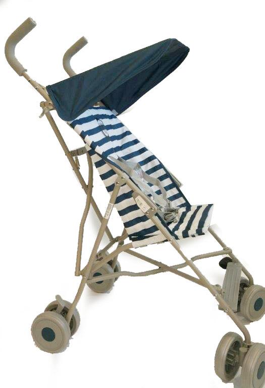 Mariner Коляска прогулочная цвет синий -  Коляски