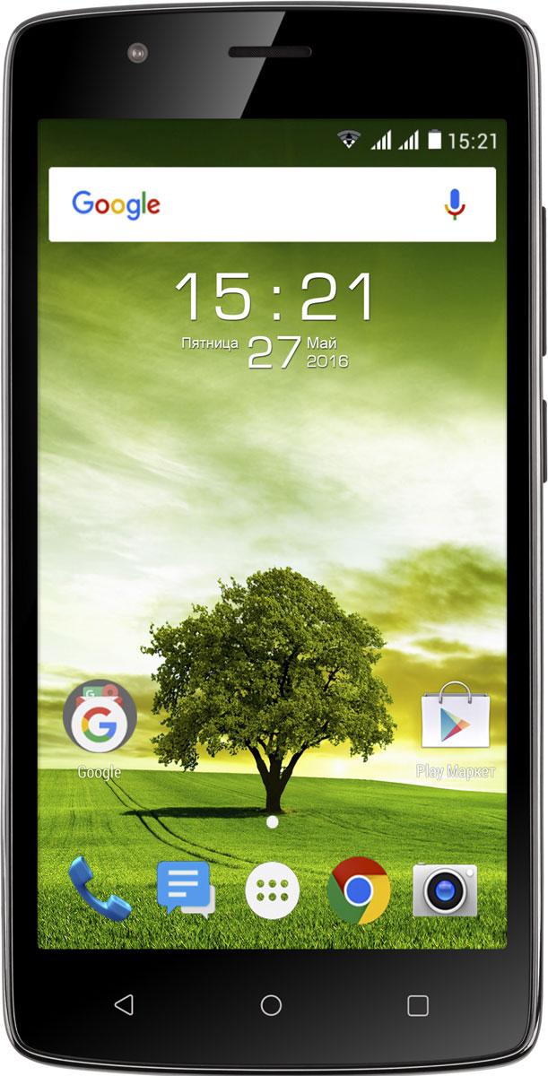 Fly Cirrus 3 FS506, Black9511Fly Cirrus 3 – модель, воплощающая в себе большие технические возможности и привлекательный дизайн за небольшую стоимость. Смартфон работает на базе 4-ядерного процессора под управлением OC Android 5.1.1 Lollipop, имеет ёмкостный IPS дисплей с HD разрешением и качественную 5 Мпикс камеру.Запустить одновременно несколько приложений, проигрывать видео-файлы или загружать ресурсоёмкие страницы в интернете - всё это под силу Fly Cirrus 3. Четырехъядерный процессор с частотой 1.3 ГГц под управлением современной ОС Android Lollipop 5.1.1 эффективно справляется с любыми задачами.Наслаждайтесь впечатляющим качеством изображения на 5 HD дисплее, выполненным по технологии In-Plane Switching. Насыщенные цвета, высокая чёткость и широкие углы обзора сделают работу с визуальным контентом, текстом и видео по-настоящему удобной.Разбавляйте ленту Instagram яркими летними снимками! Вместе с 5 Мпикс камерой, оснащенной мощной светодиодной вспышкой, вы будете получать отличные кадры и видео в Full HD разрешении.Многозадачность – главное качество Fly Cirrus 3. Смартфон поддерживает работу двух SIM-карт, а значит, вы легко сможете совмещать рабочие и личные звонки. Модель работает в 3G сетях, оснащена модулями Wi-Fi и Bluetooth, а также системами навигации GPS и A-GPS.С Fly Cirrus 3 вы сможете целый день находиться на связи и не волноваться, что смартфон подведет вас в самый неподходящий момент. Аккумулятор ёмкостью 2000 мАч обеспечивает работу до 8 часов в режиме непрерывного разговора, до 30 часов в режиме воспроизведения аудиозаписей и до 4.5 часов при работе в Интернете.ОС Android Lollipop предоставляет пользователю широкие возможности персонализации. Следите за безопасностью вместе с функцией Smart Lock, задавайте настройки, чтобы фильтровать уведомления и видеть только самые важные новости, меняйте темы и наслаждайтесь огромным выбором популярных приложений в Google Play.Телефон сертифицирован EAC и имеет русифицированный интерфейс меню и Руководство п