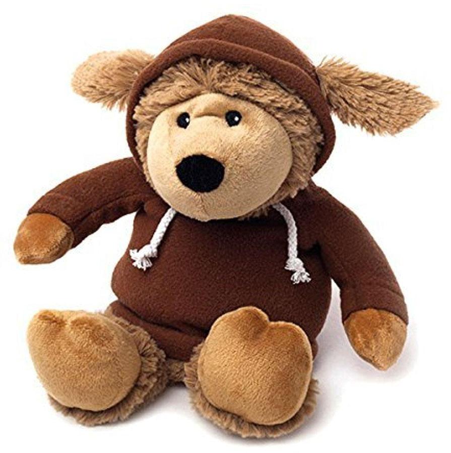 Warmies Мягкая игрушка-грелка Овечка в худи цвет коричневый