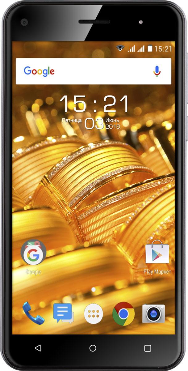 Fly Cirrus 4 FS507, Black9987Fly Cirrus 4 FS507 вне всяких сомнений один из лучших представителей своей линейки. Смартфон в роскошном стеклянном корпусе с изогнутым 2.5D HD дисплеем работает на базе самой современной ОС Android Marshmallow.Тонкий стильный корпус со скошенными боковыми гранями и эргономичной формой поразит вас лёгкостью и комфортом в управлении. Стеклянная глянцевая поверхность задней крышки в сочетании с лаконичными операционными кнопками на передней панели создают завершенный образ, который никого не оставит равнодушным.Наслаждайтесь чистым и чётким изображением на широком 5 экране с HD разрешением. Дисплей создан с применением технологии ONCELL, позволяющей сократить толщину дисплея и улучшить цветопередачу, благодаря чему изображение останется ярким и насыщенным даже на солнечном свете.Четырехъядерный процессор MT6580A имеет тактовую частоту 1.3 ГГц. Эффективное распределение мощностей в соответствии с текущей задачей и наличие 1 ГБ оперативной памяти позволяют Fly Cirrus 4 быстро обрабатывать пользовательские запросы и обеспечивать быстродействие системы.Оцените превосходное качество снимков на 8 Мпикс камеру с автофокусом и мощной вспышкой! Яркие и четкие фото и видео в Full HD разрешении помогут оставить в памяти самые яркие моменты этого лета, а с 2 Мпикс фронтальной камерой так легко делать красивые селфи-снимки.Забудьте о нехватке памяти — Fly Cirrus 4 оснащён 8 ГБ встроенной и 1 ГБ оперативной памяти. При необходимости основную Flash-память можно расширить съемной картой памяти (до 32 ГБ) и записывать на неё фото и видео-файлы.Поддержка 3G сетей и Wi-Fi обеспечивает скоростной доступ в Интернет, а модуль GPS – навигации не даст потеряться в пути. Fly Cirrus 4 традиционно оснащён двумя слотами под SIM-карты и позволяет удобно комбинировать личные и рабочие звонки в одном смартфоне.Телефон сертифицирован EAC и имеет русифицированный интерфейс меню и Руководство пользователя.