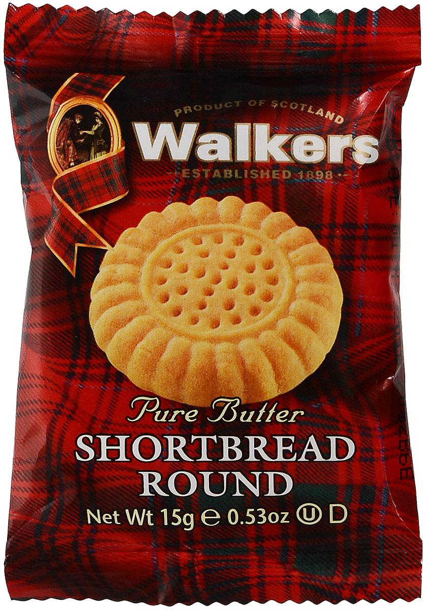 Walkers песочное печенье Круги, 15 гК01787Тающее во рту наслаждение, которым не хочется делиться.Пищевая ценность на 100 г продукта: белки 5,4 г, углеводы 61,3 г, жиры 28,1 г.