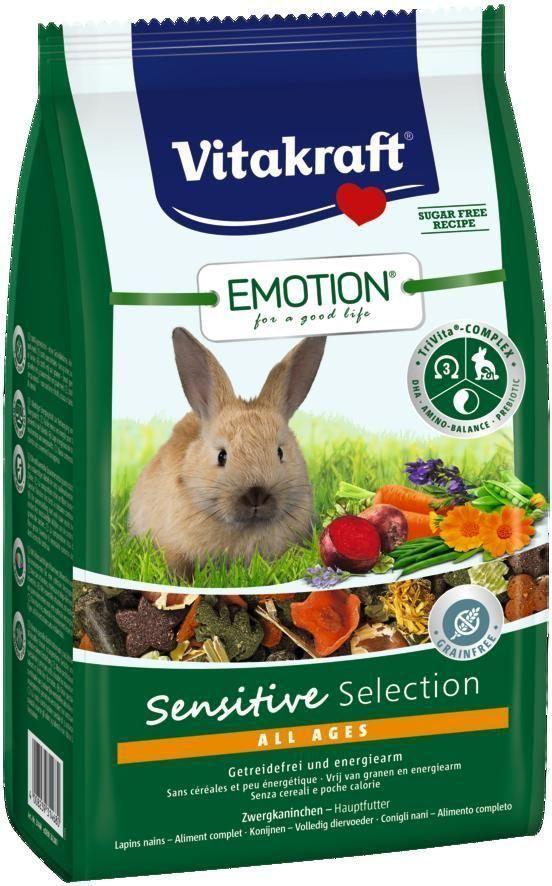 Корм для кроликов Vitakraft Sensitive Selection, 600 г33766Сбалансированный беззерновой корм с низким содержанием энергии для контроля веса. Содержит пребиотик инулин, все жизненно важные аминокислоты и докозагексаеновую кислоту, важную для функции сердца, головного мозга и иммунной системы. Состав: продукты растительного происхождения (люцерна 12,8%, сушеные травы 12%), овощи 30,6%, семена, инулин 1,9%, ноготки 1%, масла и жиры, водоросли, минералы, экстракт юкки. Товар сертифицирован.
