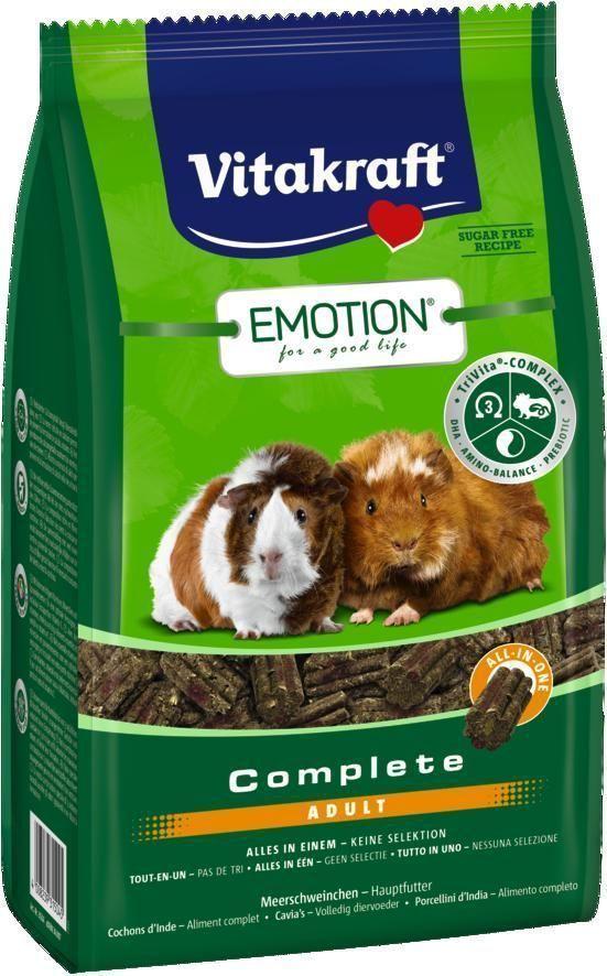Корм для морских свинок Vitakraft Complete, 800 г корм для птиц vitakraft menu vital для волнистых попугаев основной 1кг